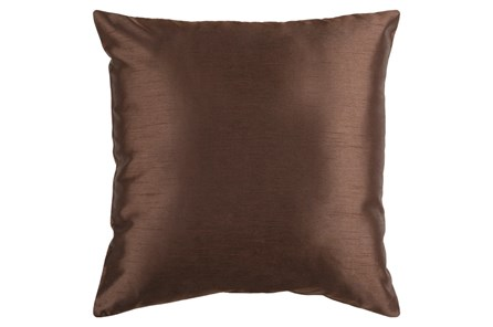 Accent Pillow-Cade Chocolate 22X22 - Main