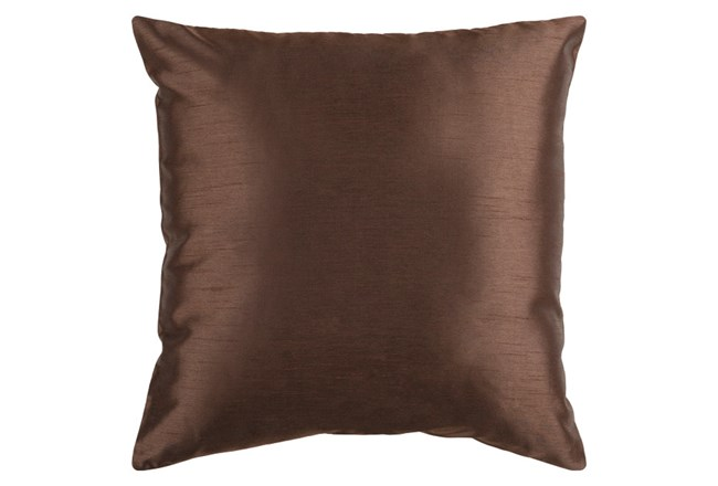 Accent Pillow-Cade Chocolate 22X22 - 360