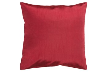 Accent Pillow-Cade Burgundy 22X22