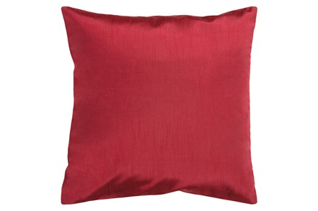Accent Pillow-Cade Burgundy 22X22