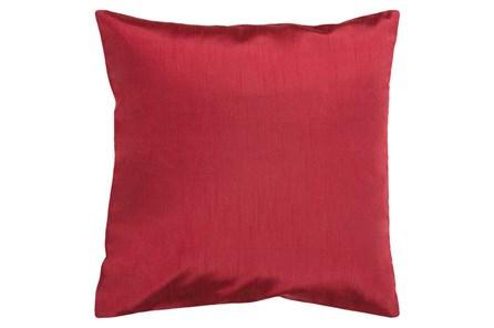 Accent Pillow-Cade Burgundy 22X22 - Main
