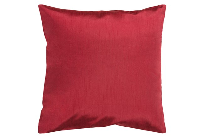 Accent Pillow-Cade Burgundy 22X22 - 360