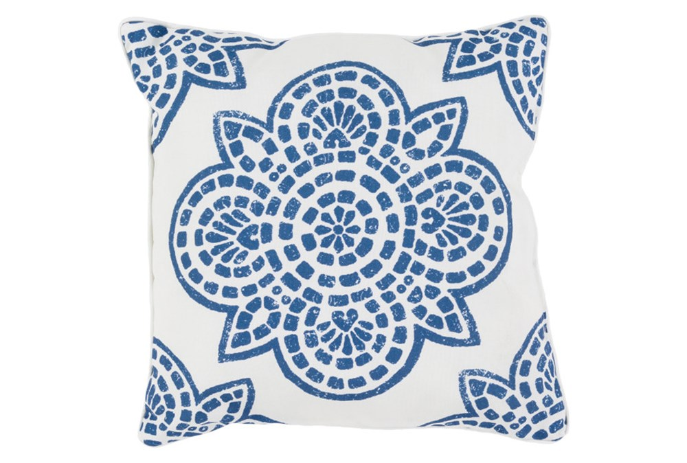 Accent Pillow-Mendi Cobalt 16X16