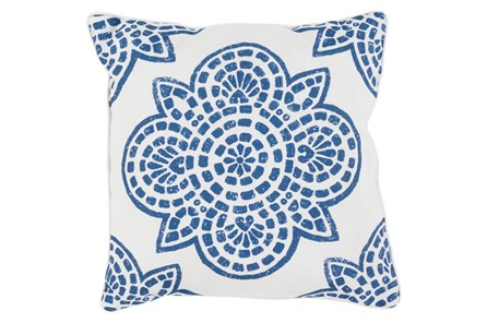 Accent Pillow-Mendi Cobalt 16X16 - Main