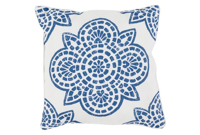 Accent Pillow-Mendi Cobalt 16X16 - 360