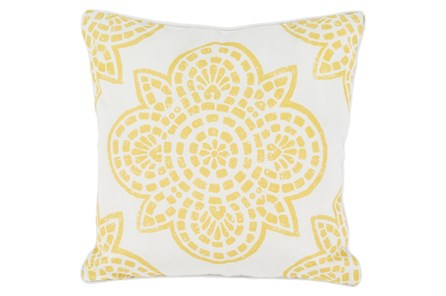 Accent Pillow-Mendi Gold 16X16 - Main