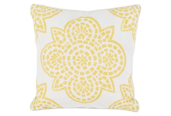 Accent Pillow-Mendi Gold 16X16 - 360