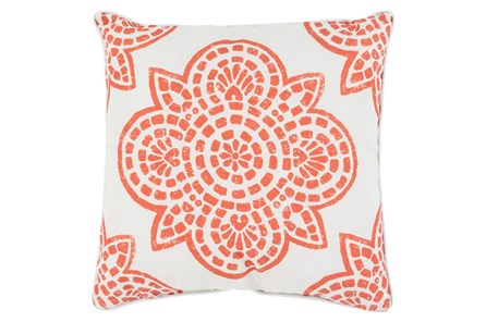 Accent Pillow-Mendi Rust 16X16 - Main
