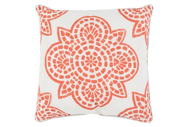 Accent Pillow-Mendi Rust 20X20 - 360