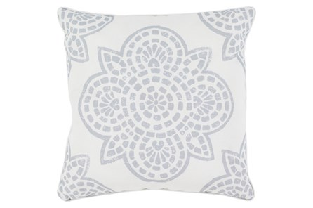 Accent Pillow-Mendi Grey 16X16 - Main