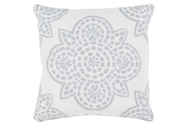 Accent Pillow-Mendi Grey 16X16 - 360
