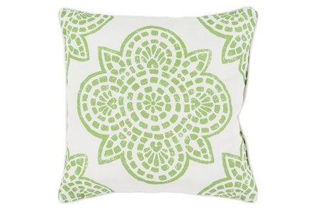 Accent Pillow-Mendi Lime 16X16 - Main