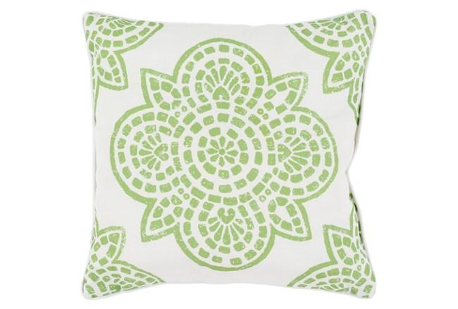 Accent Pillow-Mendi Lime 16X16 - 360