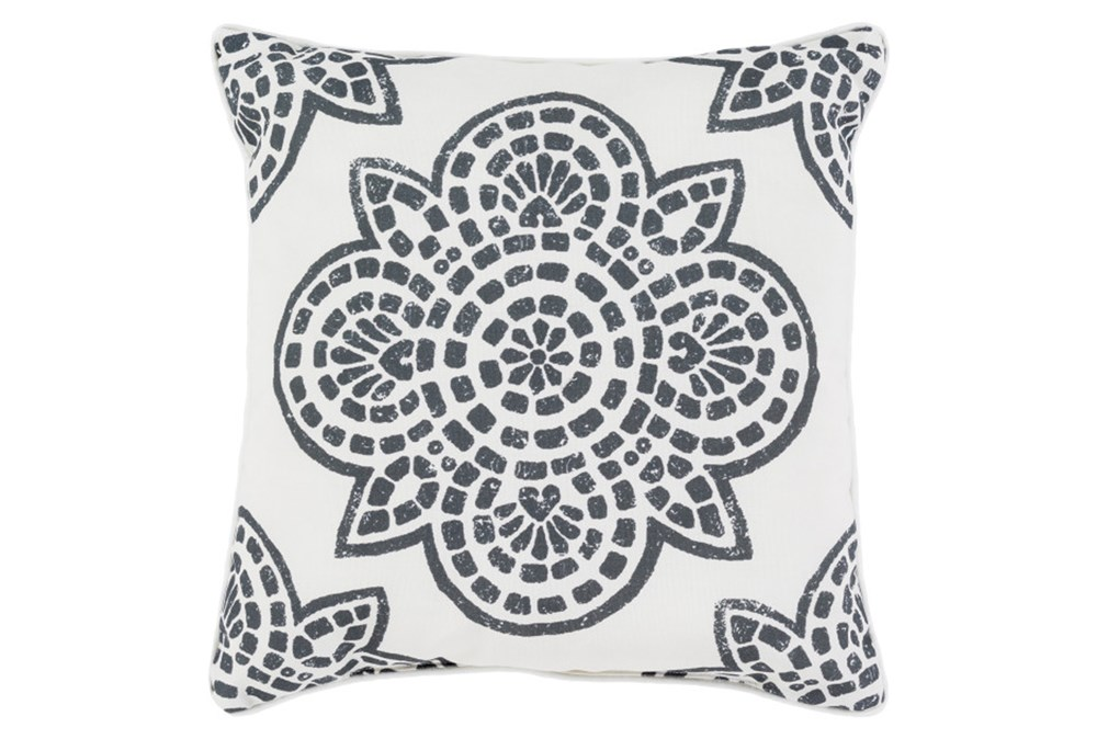 Accent Pillow-Mendi Black 16X16