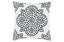 Accent Pillow-Mendi Black 16X16