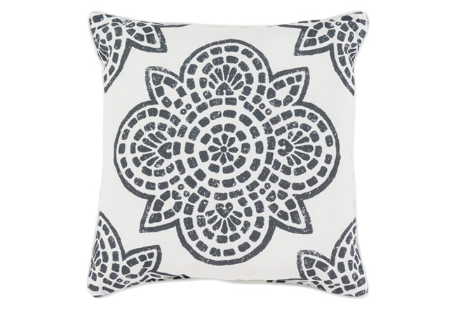Accent Pillow-Mendi Black 20X20 - 360