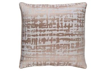 Accent Pillow-Vesalia Champagne 20X20