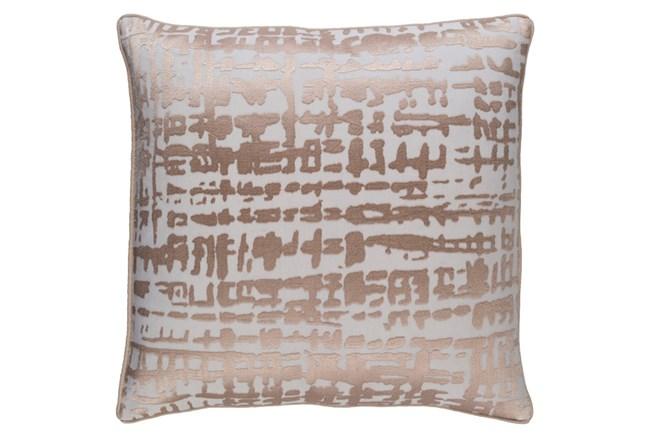 Accent Pillow-Vesalia Champagne 20X20 - 360