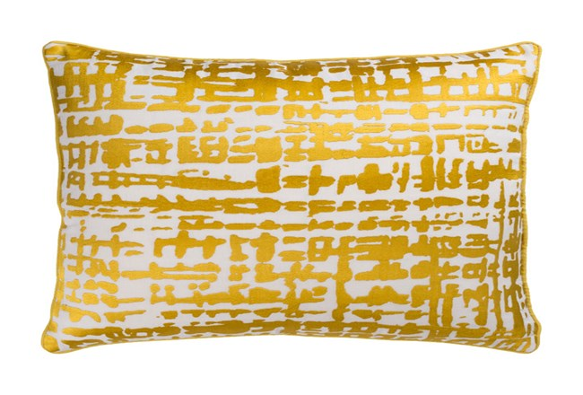 Accent Pillow-Vesalia Gold 13X20 - 360
