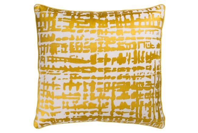 Accent Pillow-Vesalia Gold 20X20 - 360