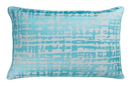 Accent Pillow-Vesalia Aqua 13X20
