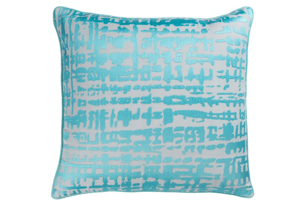 Accent Pillow-Vesalia Aqua 20X20