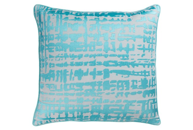 Accent Pillow-Vesalia Aqua 20X20 - 360