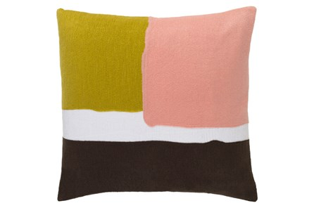 Accent Pillow-Stevens Salmon  Multi 18X18