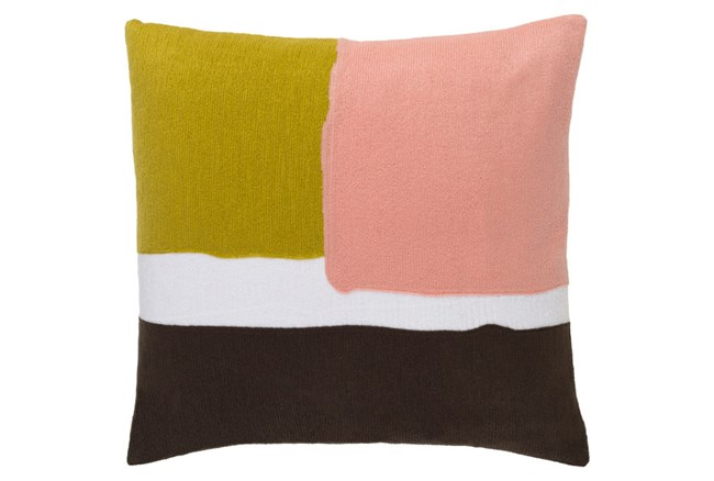 Accent Pillow-Stevens Salmon  Multi 20X20 - 360