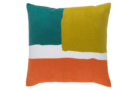 Accent Pillow-Stevens Green Multi 18X18 - Main