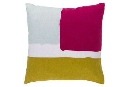 Accent Pillow-Stevens Pink Multi 18X18