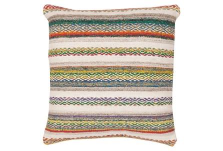 Accent Pillow-Nala Dark Natural 18X18