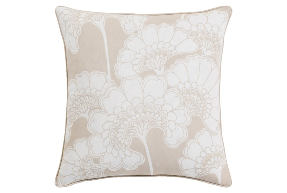 Accent Pillow-Kyoto Beige 20X20