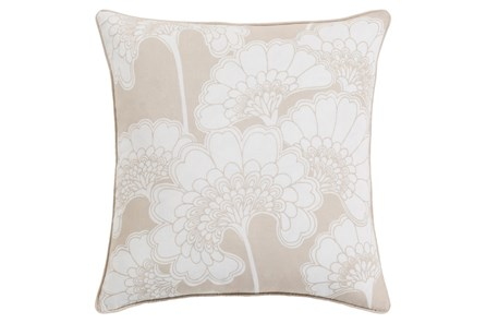 Accent Pillow-Kyoto Beige 20X20 - Main