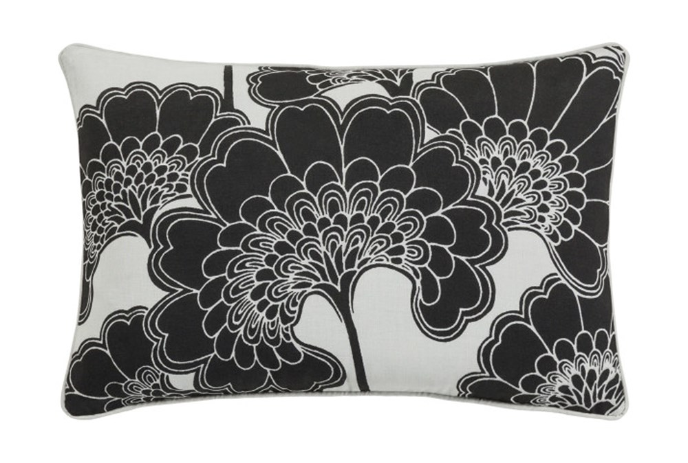 Accent Pillow-Kyoto Black 13X20