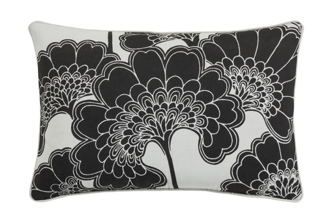 Accent Pillow-Kyoto Black 13X20 - 360
