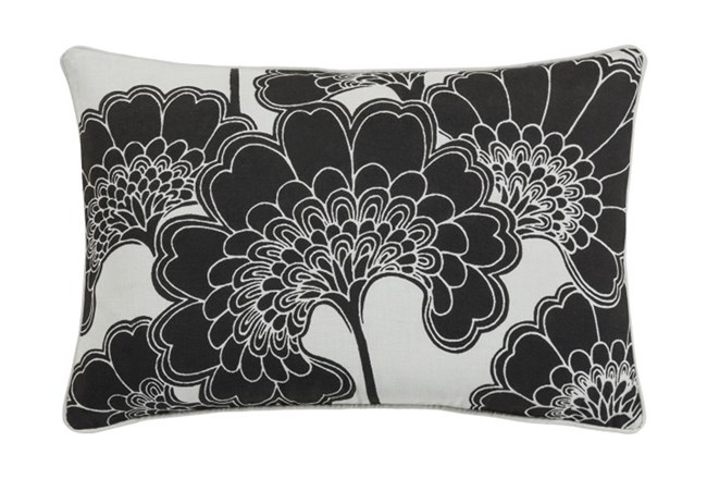 Accent Pillow-Kyoto Black 13X20 - 360