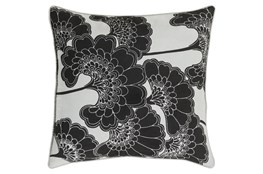 Accent Pillow-Kyoto Black 20X20