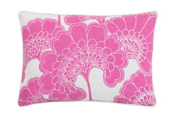 Accent Pillow-Kyoto Pink 13X20