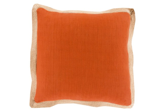 Accent Pillow-Foster Rust/Mocha 22X22 - 360