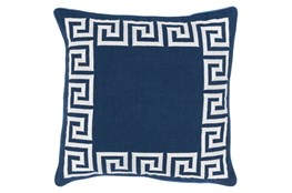 Accent Pillow-Maya Navy 18X18