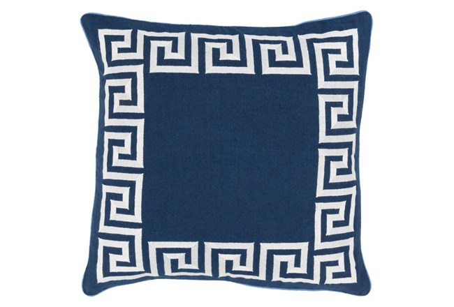 Accent Pillow-Maya Navy 18X18 - 360