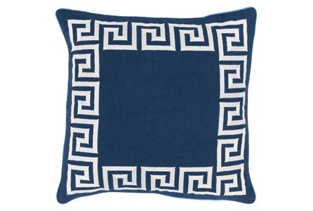 Accent Pillow-Maya Navy 20X20
