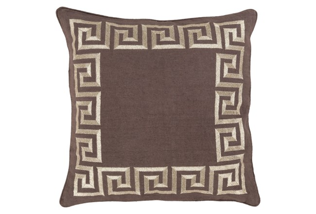 Accent Pillow-Maya Tan 18X18 - 360