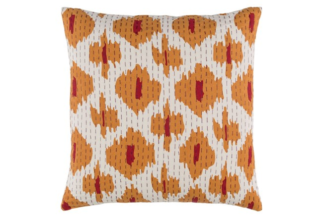 Accent Pillow-Dolly Orange 18X18 - 360