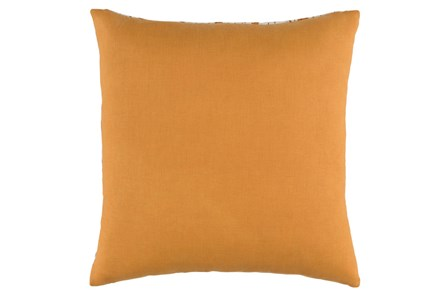 Accent Pillow-Dolly Orange 22X22 - Main