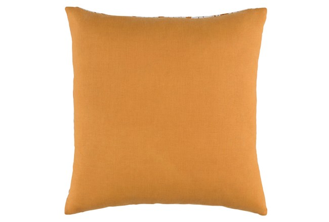 Accent Pillow-Dolly Orange 22X22 - 360