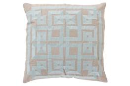 Accent Pillow-Trina Beige/Grey 20X20