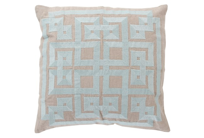 Accent Pillow-Trina Beige/Grey 20X20 - 360