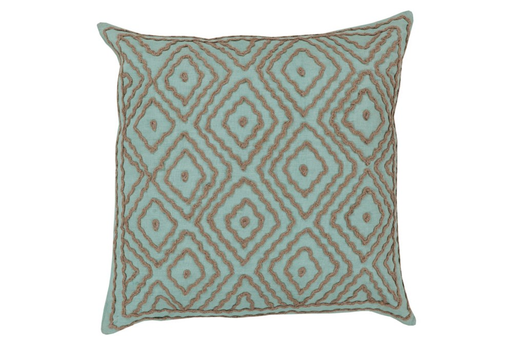 Accent Pillow-Patin Mint 18X18